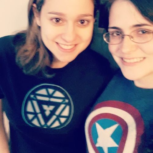 Back from our second WinterSoldier screening. This time @pbmarsbar and I definitely dressed appropriately. AvengersAssemble