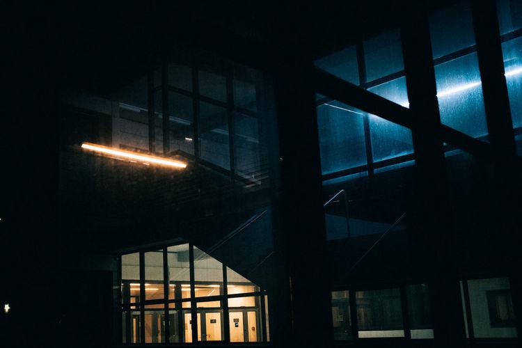 EyeEm Best Shots EyeEm Gallery Lowlight Nightphotography Architecture Building Exterior Built Structure City Illuminated Indoors  Low Angle View Lowlightleague Night No People Shootermag Window