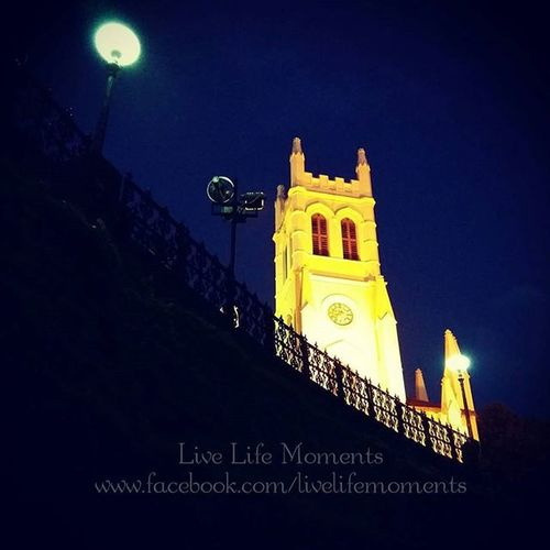 Shimla Church - by Live Life Moments A beautiful Church looks amazing during evening. Instaclick Shimla Shimlamallroad Church Shimlachurch Beautiful Amazing Natgeo Discovery _llm _soi Himachalpradresh Hillstation Nightview Evening India Architechture Mobilephotography Photography Walk Lights Photooftheday Bluesky Streetphotography Up Close Street Photography