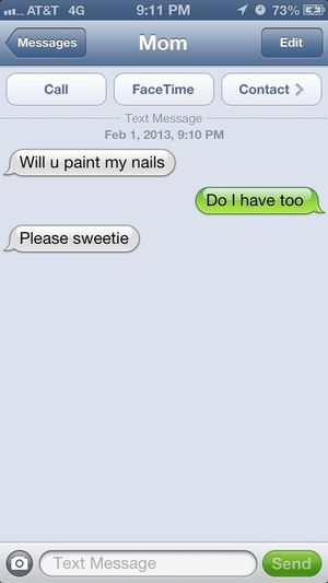 Of Course I Will #mommy #nails