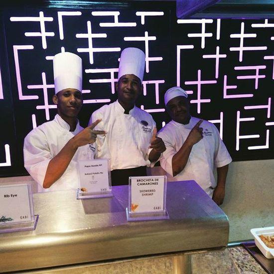*** Nos despedimos de punta cana Republicadominicana el grupo de chef Hotel Paradisus Melia gracias chavales *** PlayaBavaro Travel Vacaciones Viajes  Tusviajas Puntacana