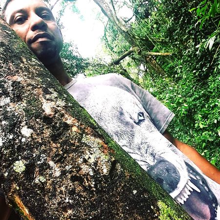 Like a wolf SauloValley Intheforest Riodejaneiro Brasil My Selfie Check This Out Allgreen Animal Kung Fu KungFuPanda