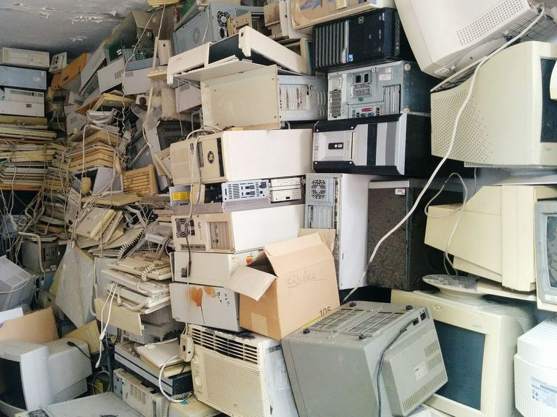 Garbage Computers Recycling