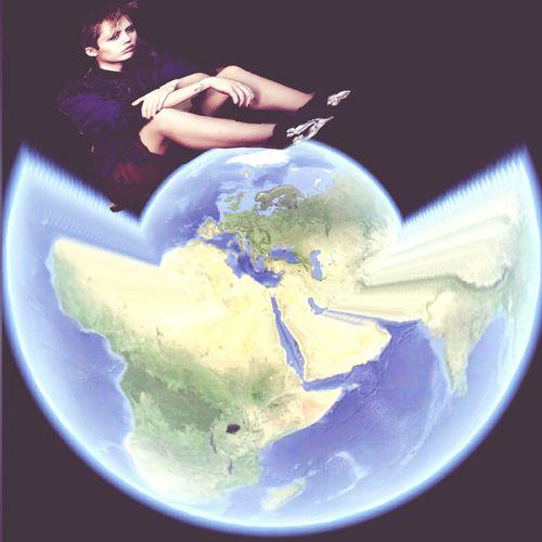 Adobe Photoshop Miley Ray Cyrus Mappamondo Creatore Di Photoshop Anche A' tè