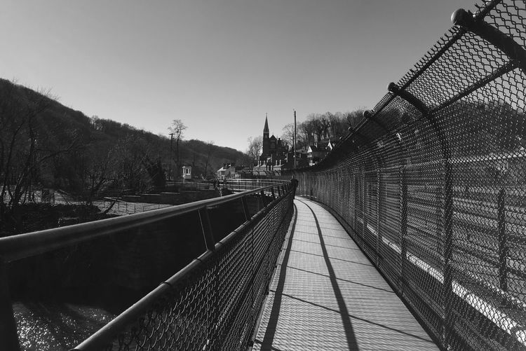 Harpers Ferry Thearchitect-2016-eyeemawards Bridge Shadow Harpersferry Building IPhoneography Iphonephotography