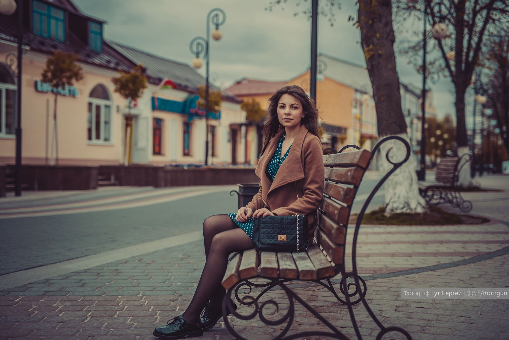 Architecture Beautiful Woman Bench Day Long Hair One Person Outdoors Real People Women Young Adult Young Women
