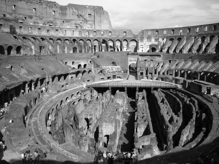 A Bird's Eye View Check This Out Hello World Relaxing Taking Photos Enjoying Life Rome Roma Colosseo Coloseum Antique Architecture Architecture_collection Architectural Detail Blackandwhite Black And White Black & White Structure Romanstyle Old Rome Sky And Clouds Clouds And Sky EyeEm Best Shots Eye4photography  EyeEm Gallery Moving Around Rome The Architect - 2018 EyeEm Awards