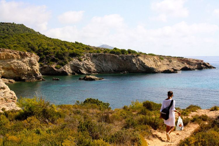 Il mio paradiso! Ancora un po' di tempo e ritorno da te ❤️ Paesaggio Dream Relax Girl Mare Sea Nature Ibiza Eivissa