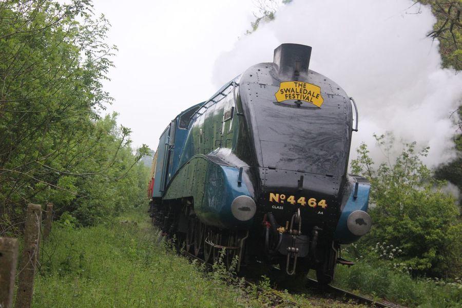 Steam Stephensons Rocket Wensleydale Yorkshire Bittern Railway Steam Train Transportation
