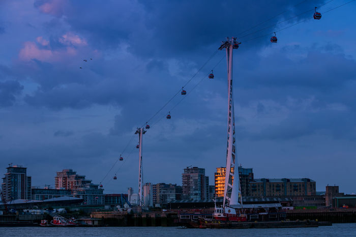 Cable Car Emirates Air Line Emirates Airline Cable Cars Greenwich London London Cablecar River Thames Thames Thames River Air Line Airline Architecture Built Structure Cablecar City Cityscape Dusk Emirates Airline Emiratesairline Evening No People Sky Tall - High Transportation Water Adventures In The City The Architect - 2018 EyeEm Awards The Street Photographer - 2018 EyeEm Awards The Great Outdoors - 2018 EyeEm Awards Summer Road Tripping #urbanana: The Urban Playground