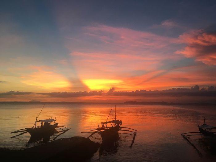 夕日 sunset