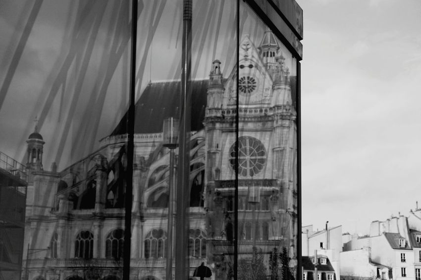 Paris Blackandwhite Photography Sainteustache