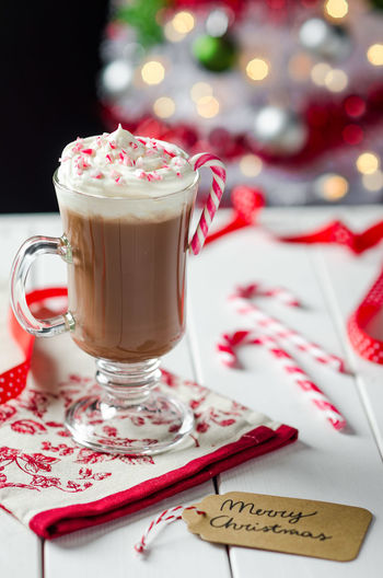 Christmas Colours Comfort Food Cooking Food Styling Freshness Merry Christmas! Ready To Eat Close-up Coffee - Drink Coffee Cup Drink Food Food And Drink Food Photography Healthy Healthy Eating Hot Chocolate Indoors  No People Ready-to-eat Refreshment Sweet Food Table