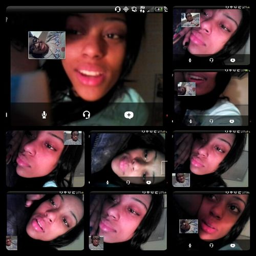 on Skype with her :)