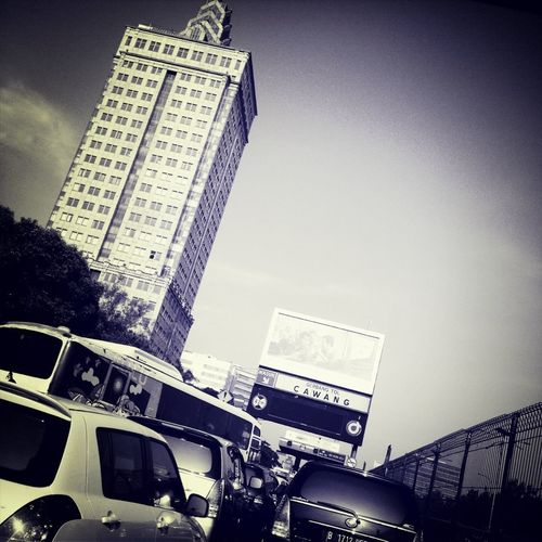 Traffic Indonesian Street (Mobile) Photographie #Ve_2302