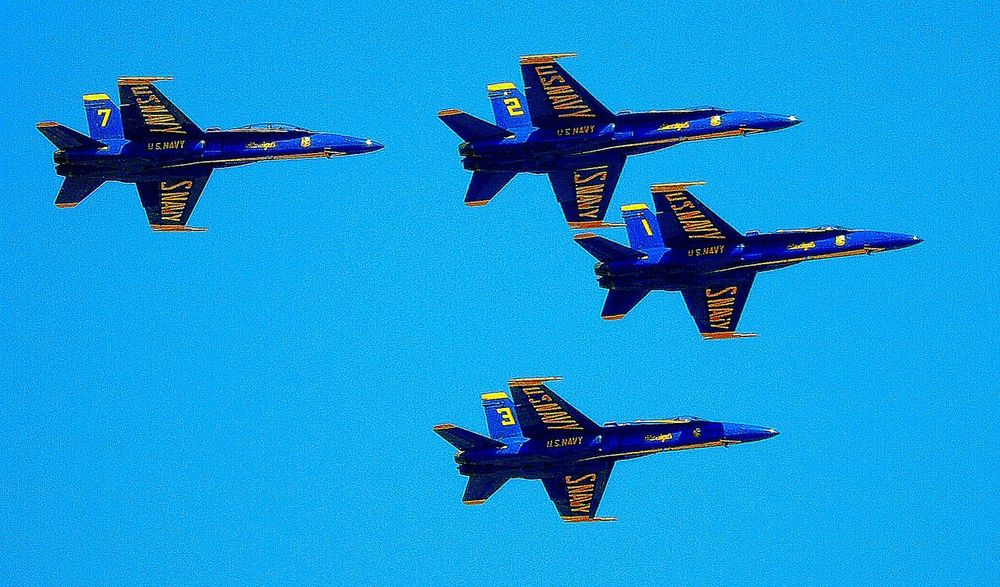 Blue Angels & Blue Skies US Navy Blue Angels Blue Angels 2016 National Cherry Fest Blue Angels Eye Em Best Shots EyeEm Best Edits EyeEm Gallery EyeEm Best Shots Eye Em Best Edits EyeEmBestPics