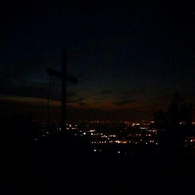Monte delle tre croci #scandiano #reggioemilia #igersreggioemilia #dark #cross #landscape #italy #summer2014 #webstapick