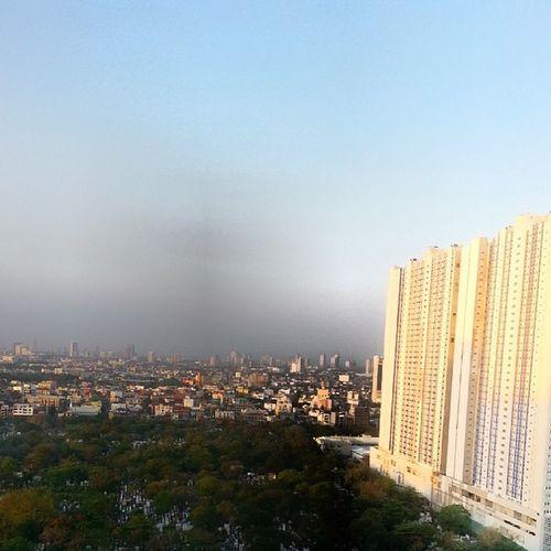 Manila view through my room window CityOfLife CityTop Metropolitan Philippines Travel Solo
