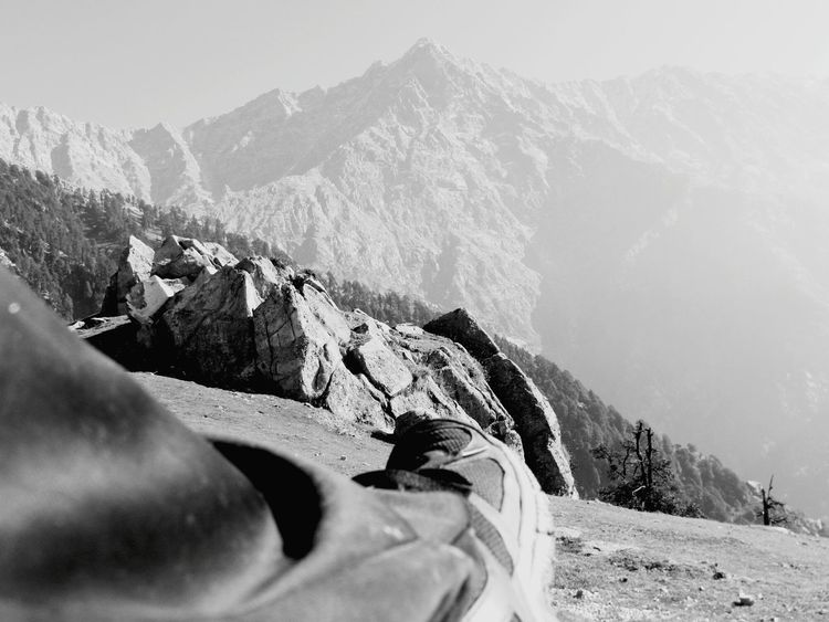 Trek Trekking Feel The Journey Mountains Himalayas Himalayas, India Hanging Out Check This Out RelaxingFeet Shoes Footscapes Monochrome Black And White Photography Black & White Black And White Top Of The Mountains Top Of The Mountain Adventure Club Adventure From My Point Of View Triund Triundhills Triundtrek India Finding New Frontiers