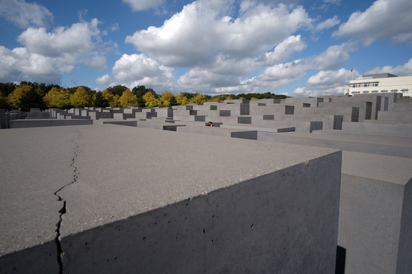 Berlin Historical Building Historical Monuments Jewish Lost In The Landscape Cloud - Sky Crack Discover Berlin Germany Historic Historical History Landscape Memorial Outdoors Travel Destinations