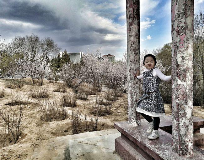 Chillin' Jaidamareerocks HuaweiP9Photography Outdoors Cherryblossoms Manandnature God's Creation