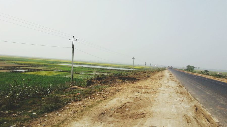 The Lonely Road ... Kolkata -Siliguri NH 34 Near Berhampore, India... Lonely Road NH 34 Highway Hanging Out Taking Photos Enjoying Life Hello World Check This Out EyeEm Gallery Shooting Time Shooting Mania Road Trip Highway Music