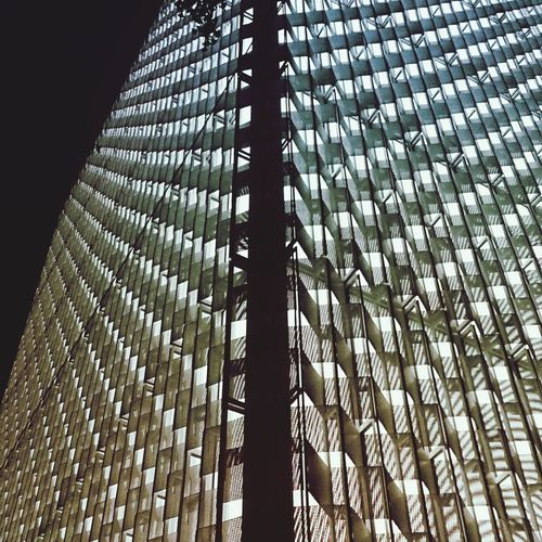 Pattern(s) Rhythm Monocrome Lighted Glowing At Night Time Building Shell Fascade Building Light Pattern Exterior Architectural Feature Geometric Shape Architecture And Art Architectural Design Repetition