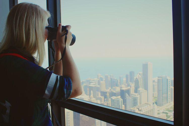 Hello World Enjoying Life Chicago Holiday2016✌❤