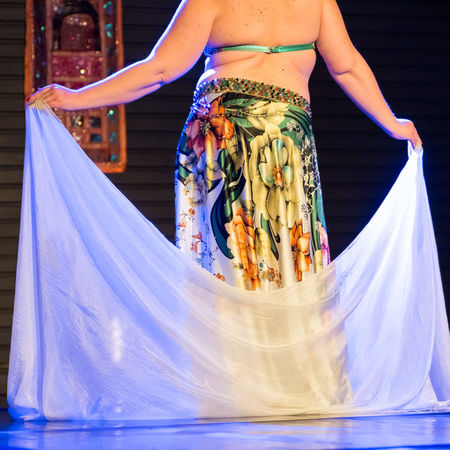 Adult Belly Dancer Dance Dancer Human Body Part Leisure Activity Low Section Midsection Multi Colored One Person Oriental Oriental Style Purple