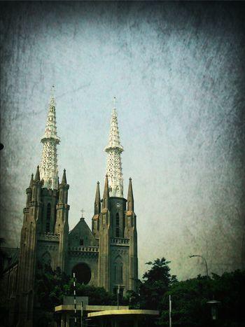 Jakarta Pusat Architecture Church