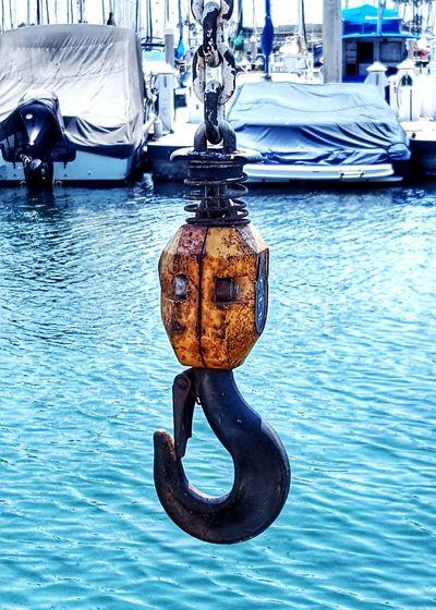 Captain Hook Awaiting A Boat To Lift Perspective Hoisting Hook One Isolation Abundance Abstract Marinas Harbor Boats Crane Ocean Docks Dockside Waterfront Outdoors Fine Art EyeEm ForTheLoveOfPhotography Eye4photography  Fresh On Eyeem  Eyeemphotography