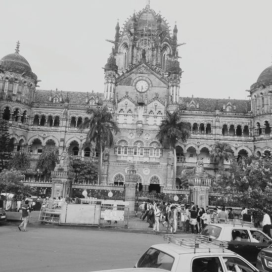 Mumbai Main Station.... Was also know as Victoria terminals..... Currently CST