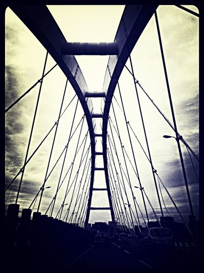 Dizzyyyyyy I Look To The Sky ..after The Storm The Light Will Touch Us All.. Working ..this Look Is A Bridge..