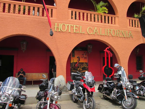 Baja California Mexico Buildings Architecture Relaxing Slow Pace Mode Of Transportation Transportation Arch Motorcycle Built Structure Land Vehicle Day City Building Exterior Scooter Travel Street Motor Scooter Red People Outdoors Real People Hotel California