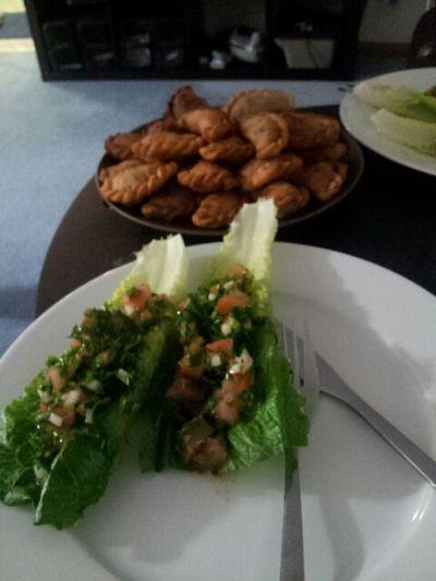 Food Porn Lebanese Food Taboulé Samboosik