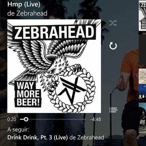 Bang ! Musicoftheday @zebraheadofficial ⚠⚡🌀🔝