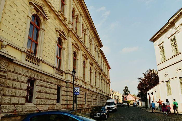 Esztergom Street Streetphotography Cars City City Street Building