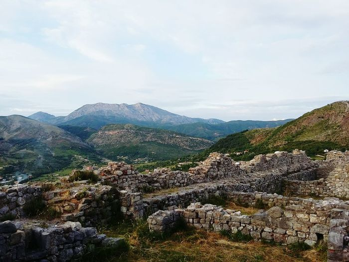 Taking PhotosHanging Out Check This Out Vscocam Sky VSCO Nature Rock - Object Cloud - Sky EyeEm Best Shots Beauty In Nature Albania Eyeemphotography Check This Out Vscoalbania EyeEmbestshots Castle Ancient Ancient Architecture Albanian Kosovo