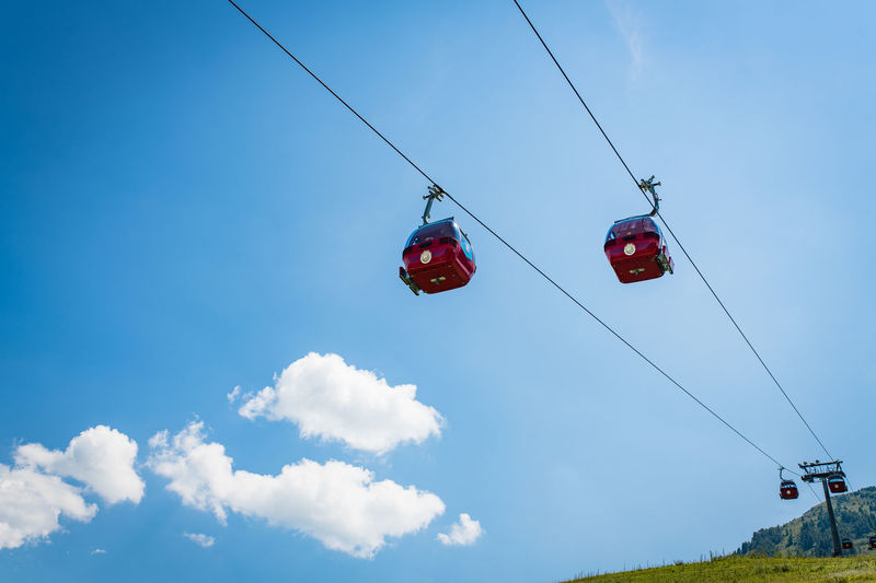 Cable Cars Cable Car Seilbahn Alpen Alpenpanorama Alps Clouds And Sky Mointain View Mountain Panorama