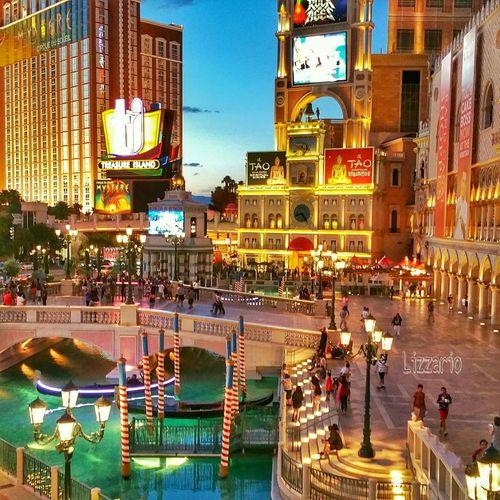 The Venetian. Las Vegas, Nevada. Venetian Las Vegas Canal Gondola Hdrphotography LizzarioPhotoArt Photoart