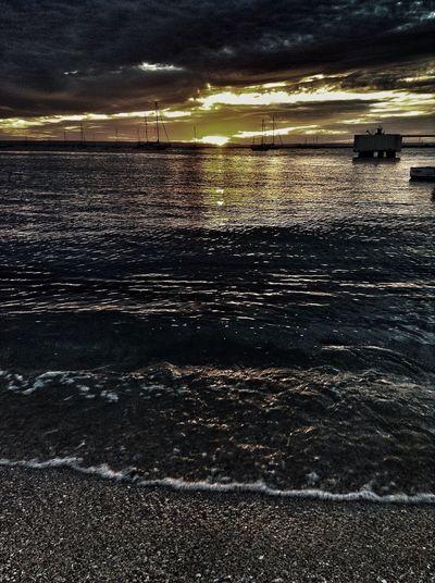 Playas negras (como en Santa Rosalía) Beach