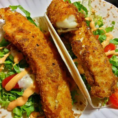 Fish Tacos Ddcatering Enjoying A Meal Foodporn