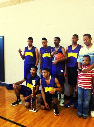 1st Place with my other team We won 37-22 i Had MVP 25pts. 11Rebs.