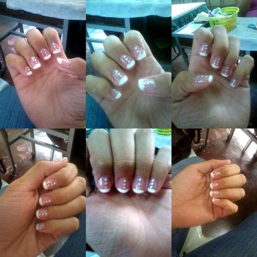 I made it with my bare hand :-) In short Manomano :-) Als AlternativeLearningSystem ALSMakati cosmetology NailArt Nail Art Poolish Manicure