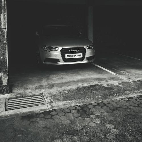 Audi No People Entrance Day Full Length Motor, Vehicle Audi German