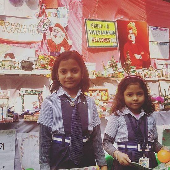 SchoolFest Heritageschool Buxar Bihar Nieces Sisters Games Won Prizes Happygirls Proud