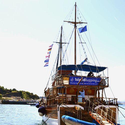 Greece Corfu CORFU ISLAND Ship Summeringreece Summer Sun First Eyeem Photo