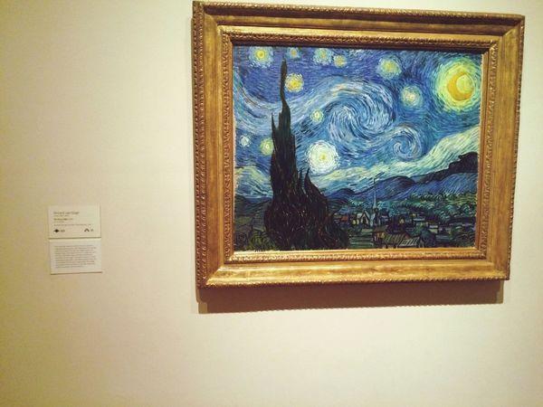 Starry Night Vincent Van Gogh Moma N.Y.