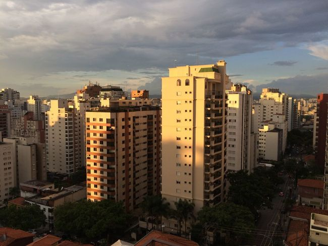 SAO PAULO BRAZIL Architecture Building Exterior Built Structure City Cityscape Cloud - Sky Day Development Growth Modern No People Outdoors Residential  Sky Skyline Skyscraper Tall Travel Destinations Tree