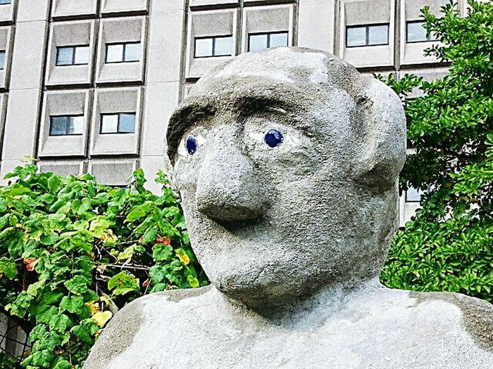 Stone Head Garden Bellevue Hospital Center Bellevue Botanical Gardens Newyorkcity